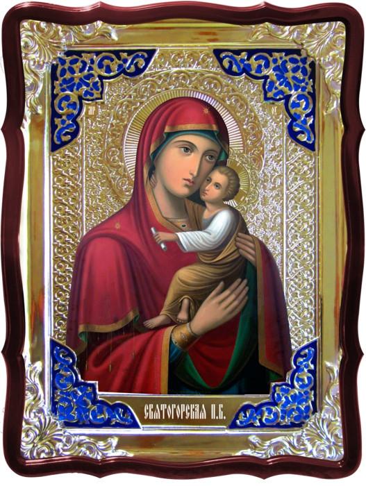 Храмовая икона Святогорская Пресвятой Богородицы