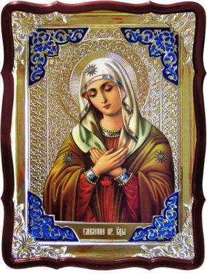 Икона в лавке -  Умиление Пресвятой Богородицы