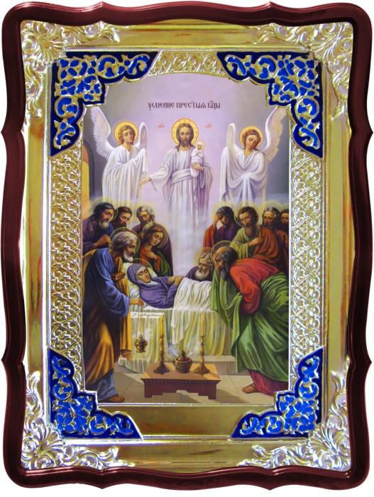 Православная икона на заказ Успение Пресвятой Богородицы