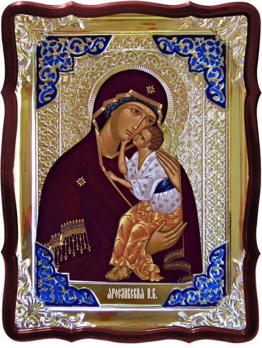 Православная икона на заказ Ярославская Пресвятой Богородицы
