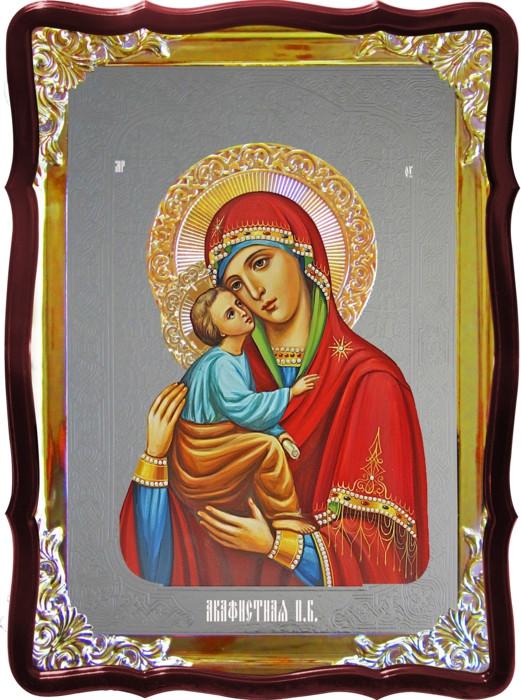 Икона в лавке -  Акафистная Пресвятой Богородицы