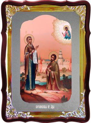 Храмовая икона Боголюбская Пресвятой Богородицы
