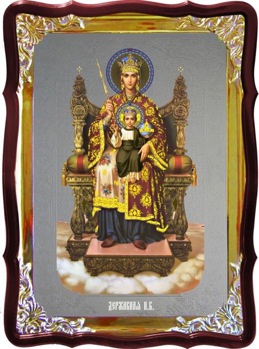 Икона в лавке -  Державная Пресвятой Богородицы