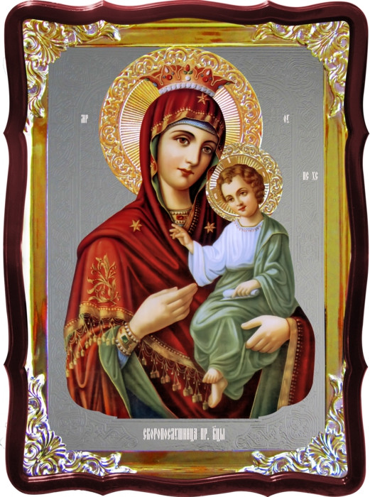Храмовая икона Скоропослушница Пресвятой Богородицы