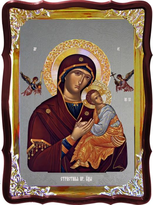 Икона в лавке -  Страстная Пресвятой Богородицы 80х60
