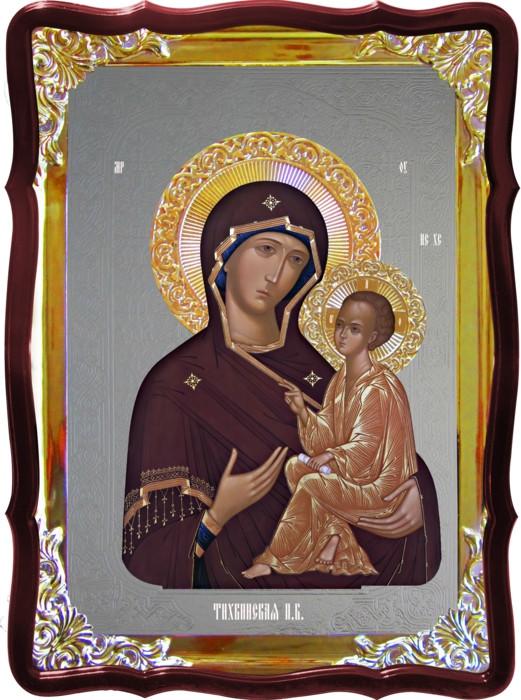 Икона Божией Матери в церковь Тихвинская