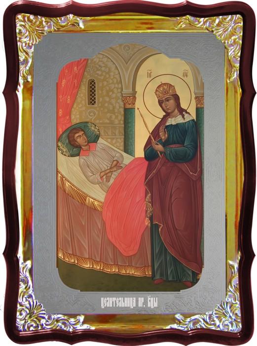 Икона в лавке -  Целительница Пресвятой Богородицы