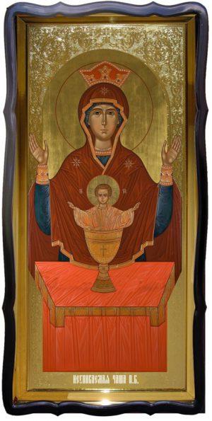Икона в лавке -  Неупиваемая чаша Пресвятой Богородицы