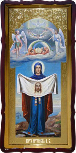 Храмовая икона Порт Артурская Пресвятой Богородицы