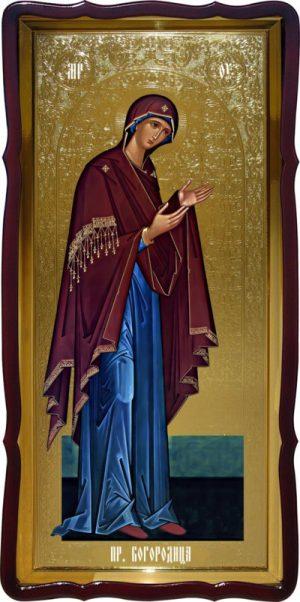 Православная икона  Пресвятая Богородица (деисус)