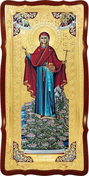Храмовая икона Афонская Пресвятой Богородицы