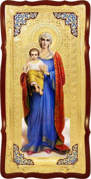 Храмовая икона Пресвятой Богородицы Благодатное небо