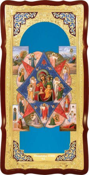 Икона в интернет магазине Неопалимая купина Пресвятой Богородицы