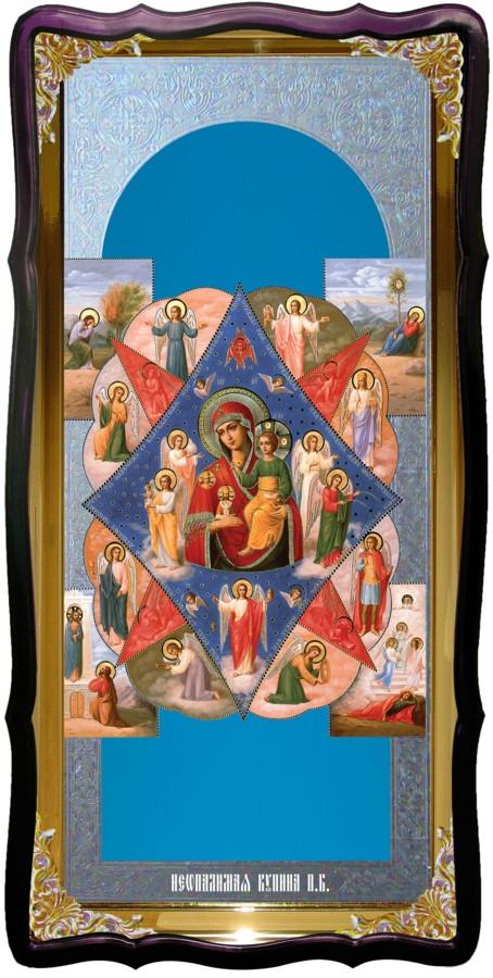Икона в лавке -  Неопалимая купина Пресвятой Богородицы