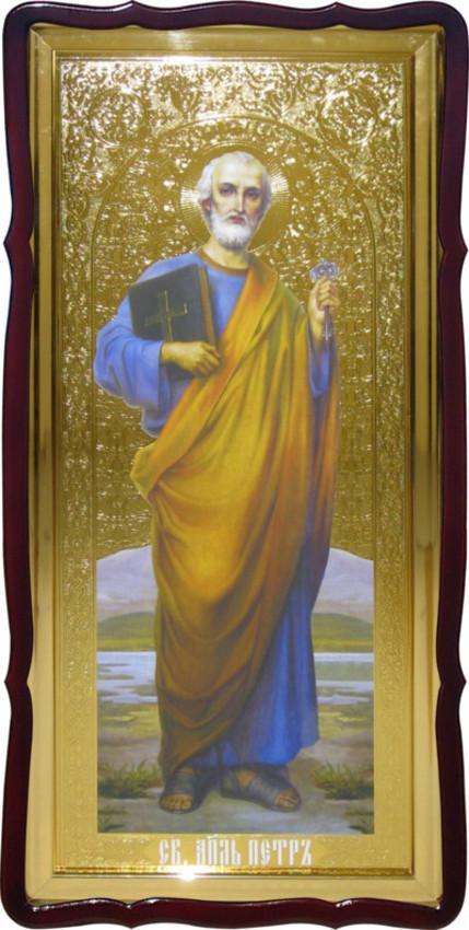 Святой Петр большая христианская икона