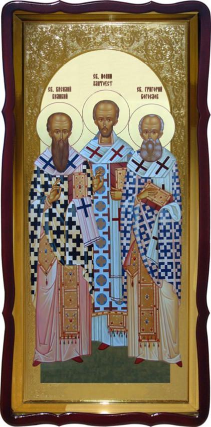 Святители Христовы настенная церковная икона