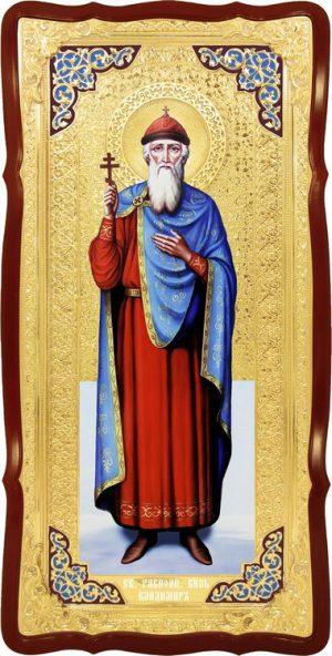 Большая икона православная Святой Владимир