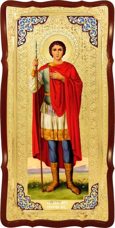 Икона для иконостаса Святой Георгий