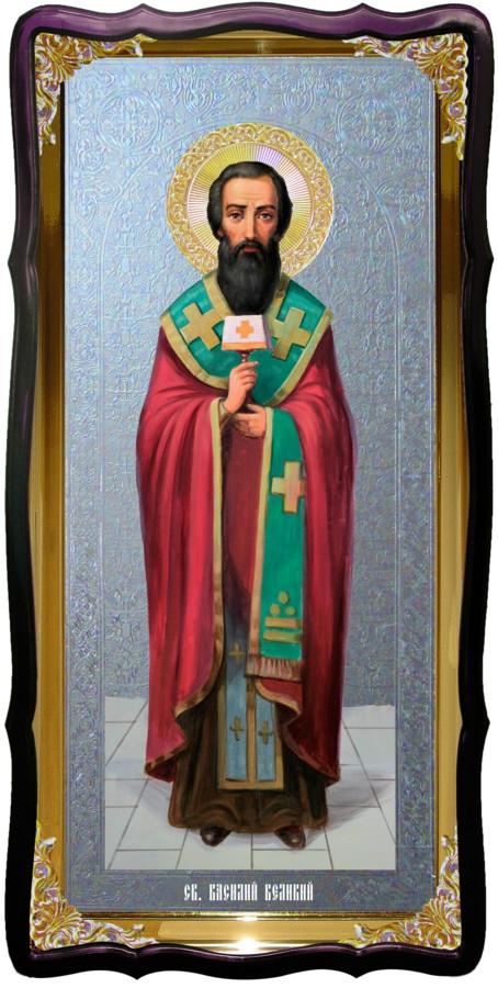 Святой Василий Великий икона для иконостаса
