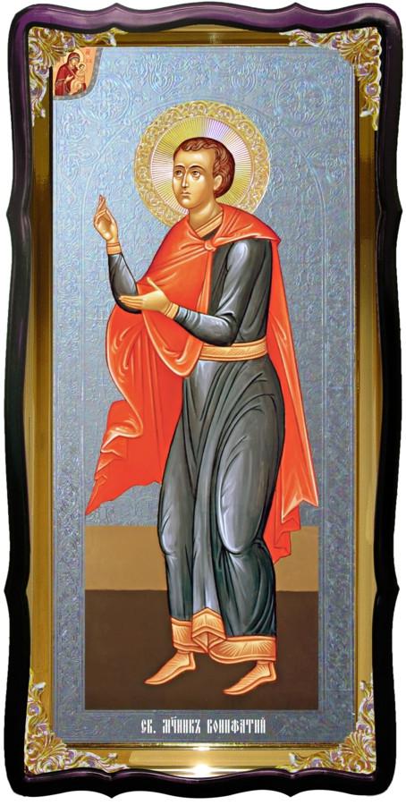 Святой Вонифатий  христианская церковная икона