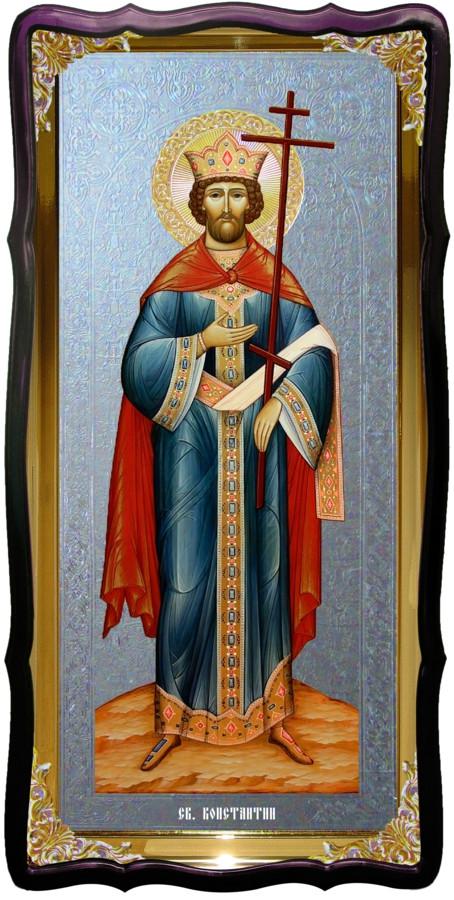 Святой Константин  настенная церковная икона