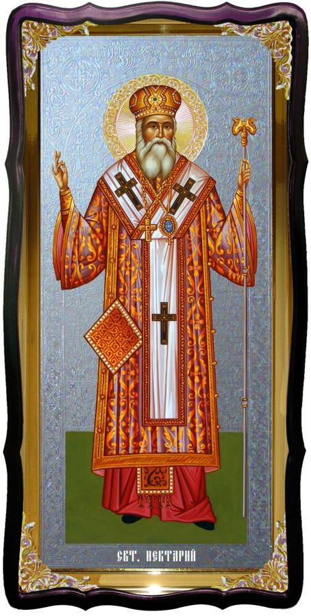 Святой Нектарий  большая церковная икона