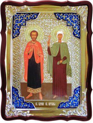 Православные монастыри с иконами Святых Адриана и Наталии