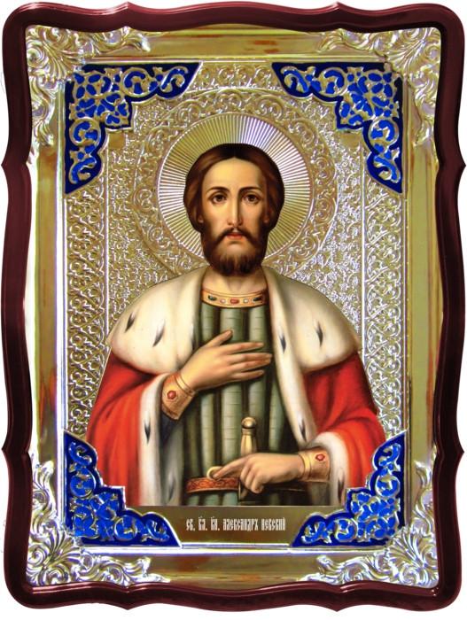 Купить икону в Киеве или Луцке: Святой Александр Невский