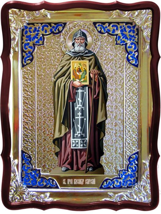 Православные святые на иконах - Святитель Александр Свирский