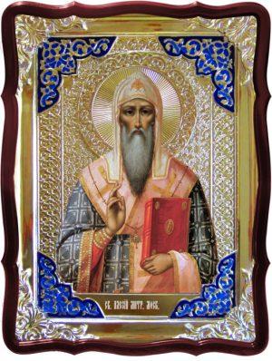 Святые на иконах православной церкви -  Алексий митрополит Московский