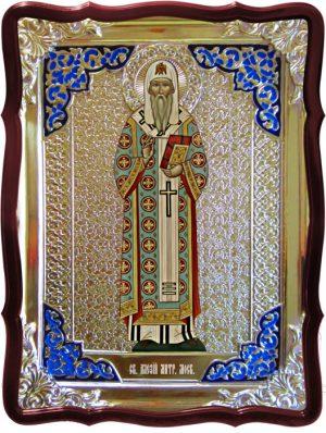 Кто такие святые можно узнать с икон каталога:  Алексий митрополит Московский