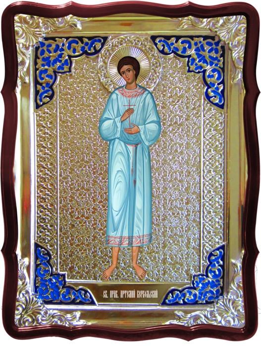 Житие святых на православных иконах: Святой Артемий Веркольский