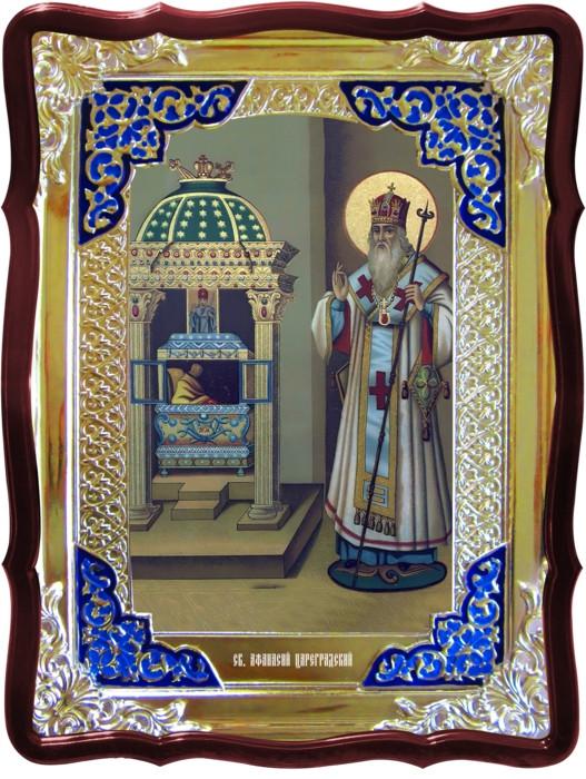 Значение икон в церкви сложно переоценить: Св. Афанасий сидящий Цареградский
