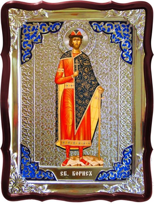 Интернет магазин икон предлагает икону Святого Бориса ростовую