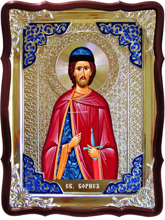 Продажа икон по каталогу - Святой Борис в ризе