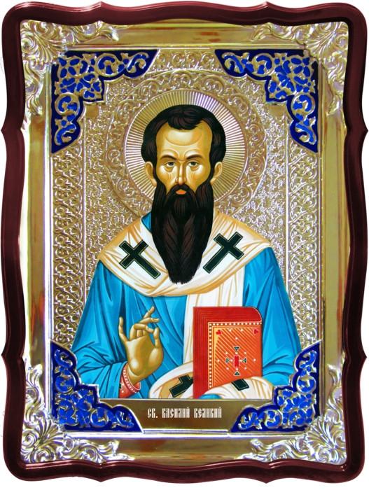 Красивые иконы святых Святой Василий Великий