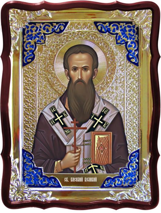 Иконы святых мужчин в нашем каталоге: Св. Василий Великий
