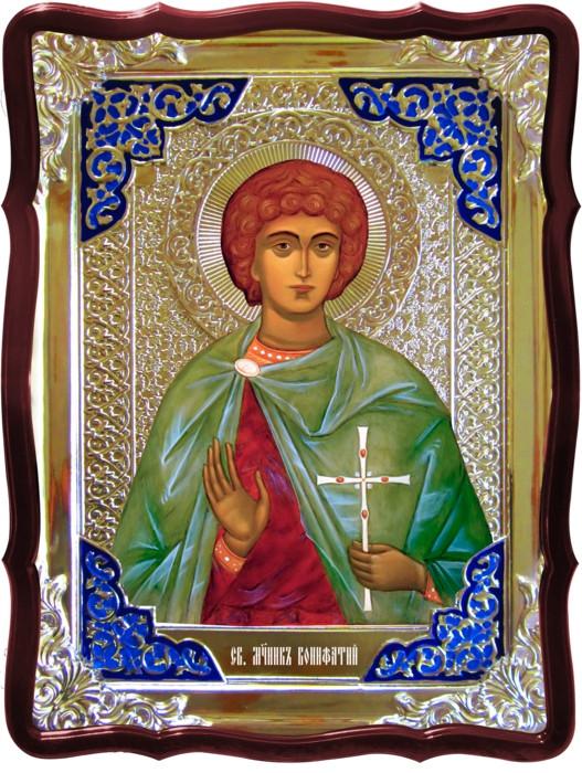 Чудотворные иконы в православии -  Святой Вонифатий