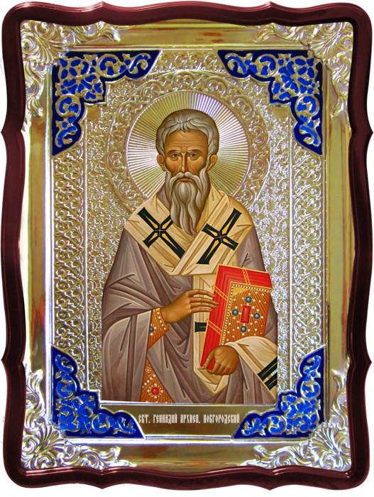 Иконы с названиями по каталогу Святой Геннадий Новгородский