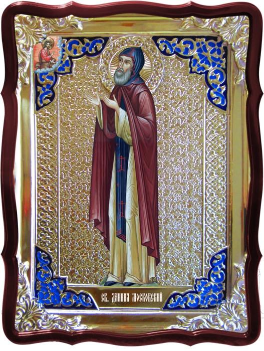 Святые иконы в лавке: Святой Даниил Московский