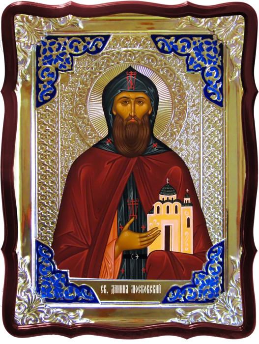 Православные святые на иконах - Святой Даниил Московский