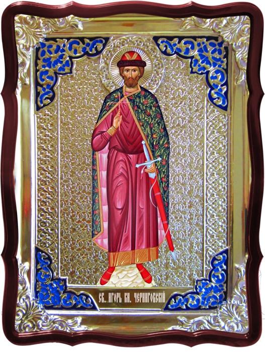 Православная вера не обходится без иконы Святого Игоря Черниговского
