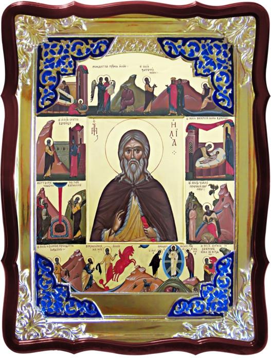 Значение икон в церкви сложно переоценить: Святой Илья пророк с житием