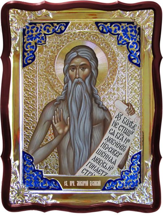 Купить икону в Киеве или Луцке: Святой Макарий великий Египетский