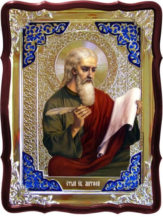 Иконы святых и их значение для прихожан: Святой Матфей евангелист