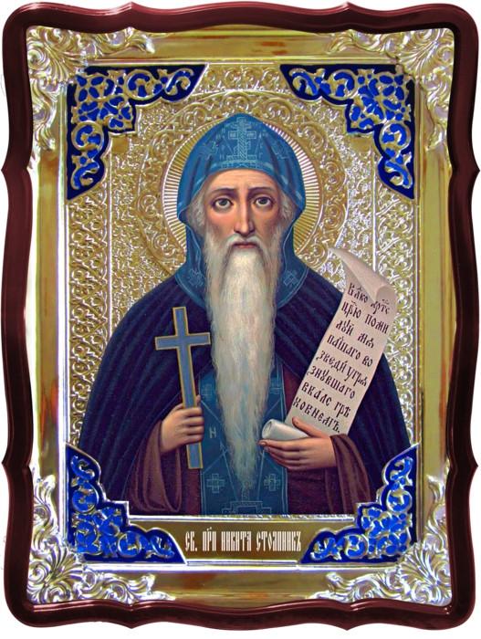 Русь православная почитает иконы Святой Никита Столпник