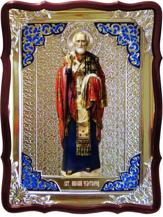 Значение православных икон трудно переоценить: Святой Николай рост