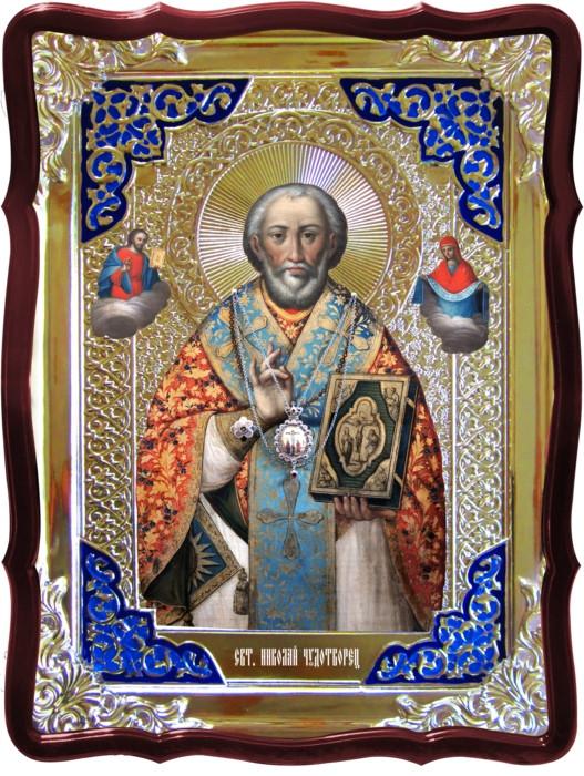 Образы святых на православных иконах - Святой Николай