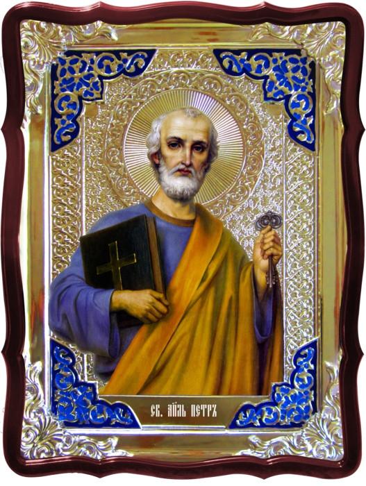 Лики святых на иконах - Святой Петр в ризе
