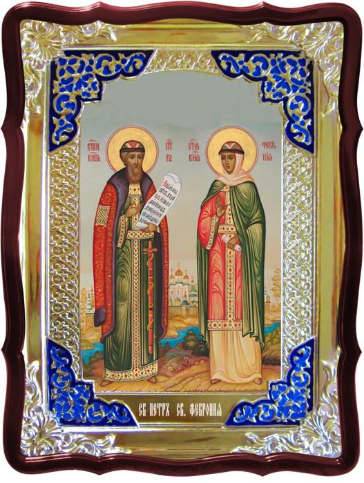 Лики святых - икона Святых Петра и Февронии